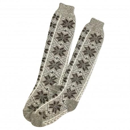 Ilgos vilnonės kojinės