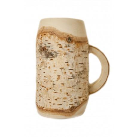 Beržinis alaus bokalas