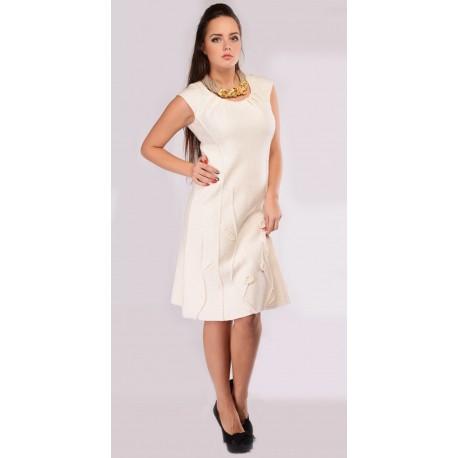 Veltos vilnos suknelė