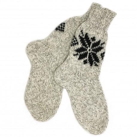 """Vilnonės kojinės """"Snaigė"""""""