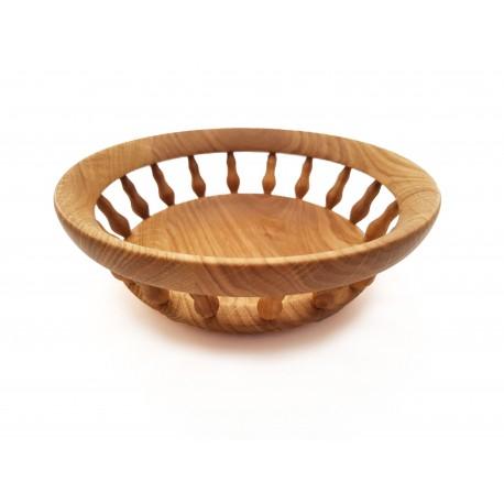 Vidutinė medinė lėkštė
