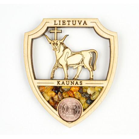 """Medinis magnetukas """"Kaunas"""""""