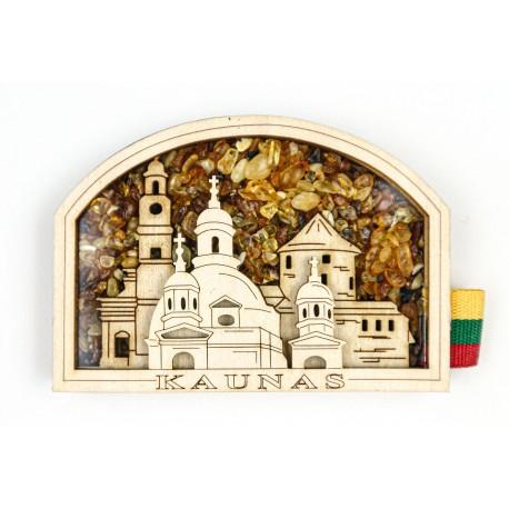 """Medinis magnetas """"Kaunas"""""""