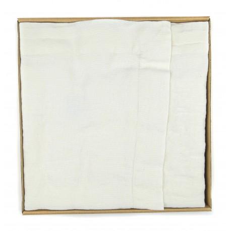 Balta lininė servetėlė