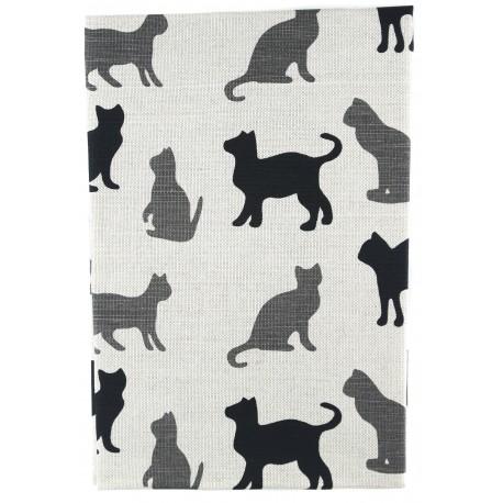 """Lininis rankšluostis """"Katės"""""""