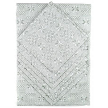 Lininės taltiesės ir servetėlių rinkinys