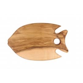 Medinė lentelė - žuvis