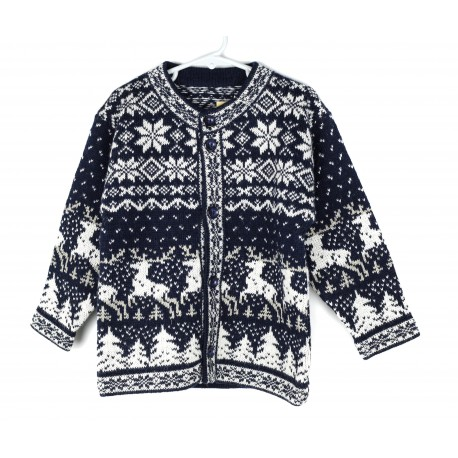 Vaikiškas vilnos megztinis