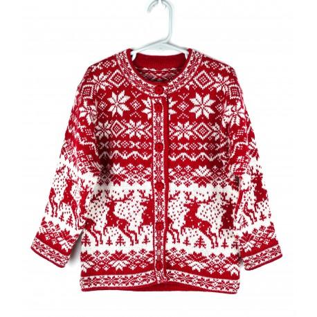 Vaikiškas vilnonis megztinis