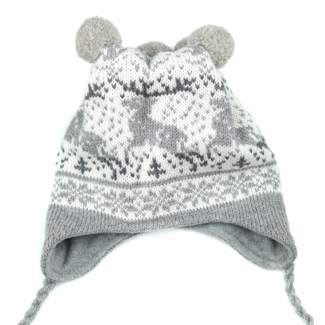 Vaikiška vilnonė kepurė