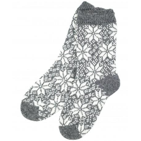 """Vilnonės kojinės """"Snaigės"""""""