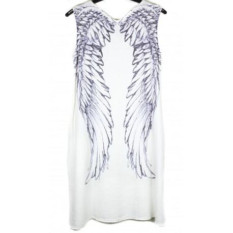 """Lininė suknelė """"Angelo sparnai"""""""