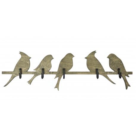 """Medinė kabykla """" Paukščiai"""""""