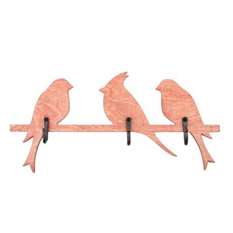 """Medinė kabykla """"Paukščiai"""""""