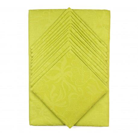 Lininės staltiesės ir servetėlių rinkinys