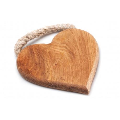 """Medinė lentelė """"Širdelė"""""""
