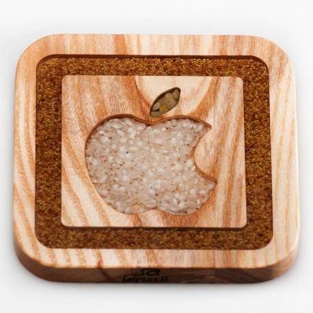 """Medinis padėkliukas """"Apple"""""""